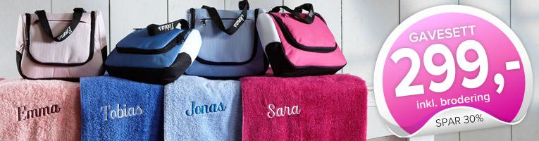 Toalettvesker & Håndkle