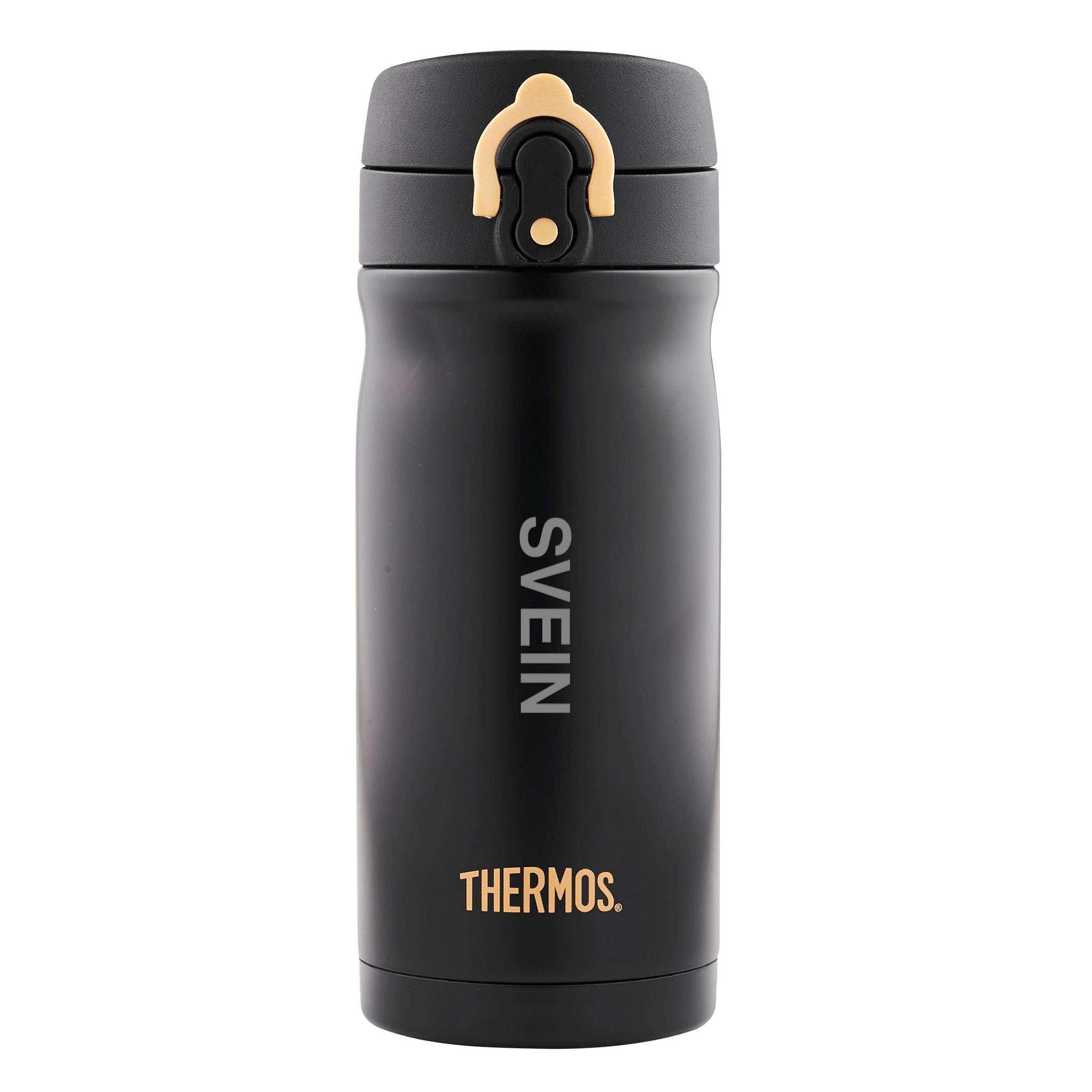 Thermos JMY Termokopp 0,35 liter, Svart