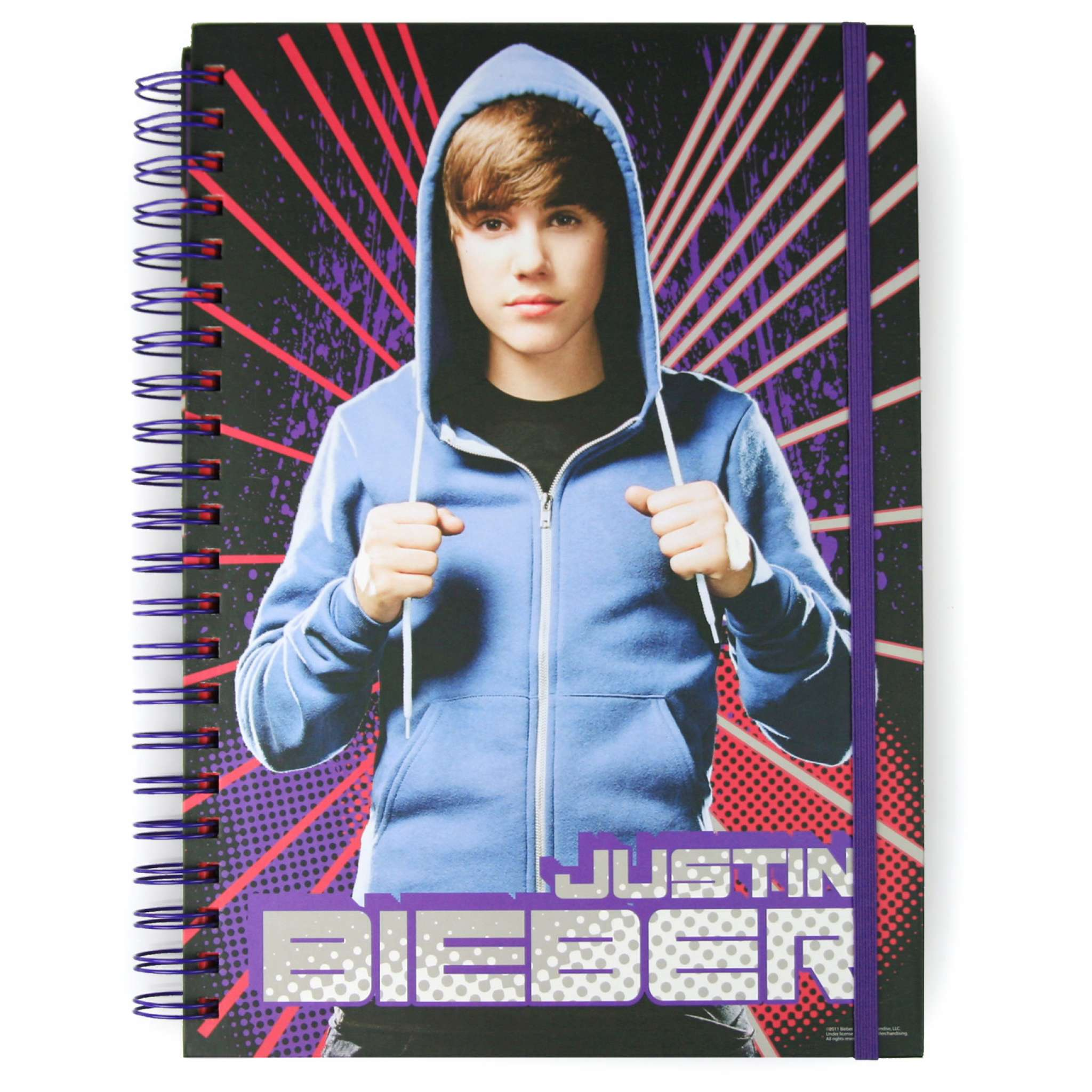 Justin Bieber A4 Spiralhefte