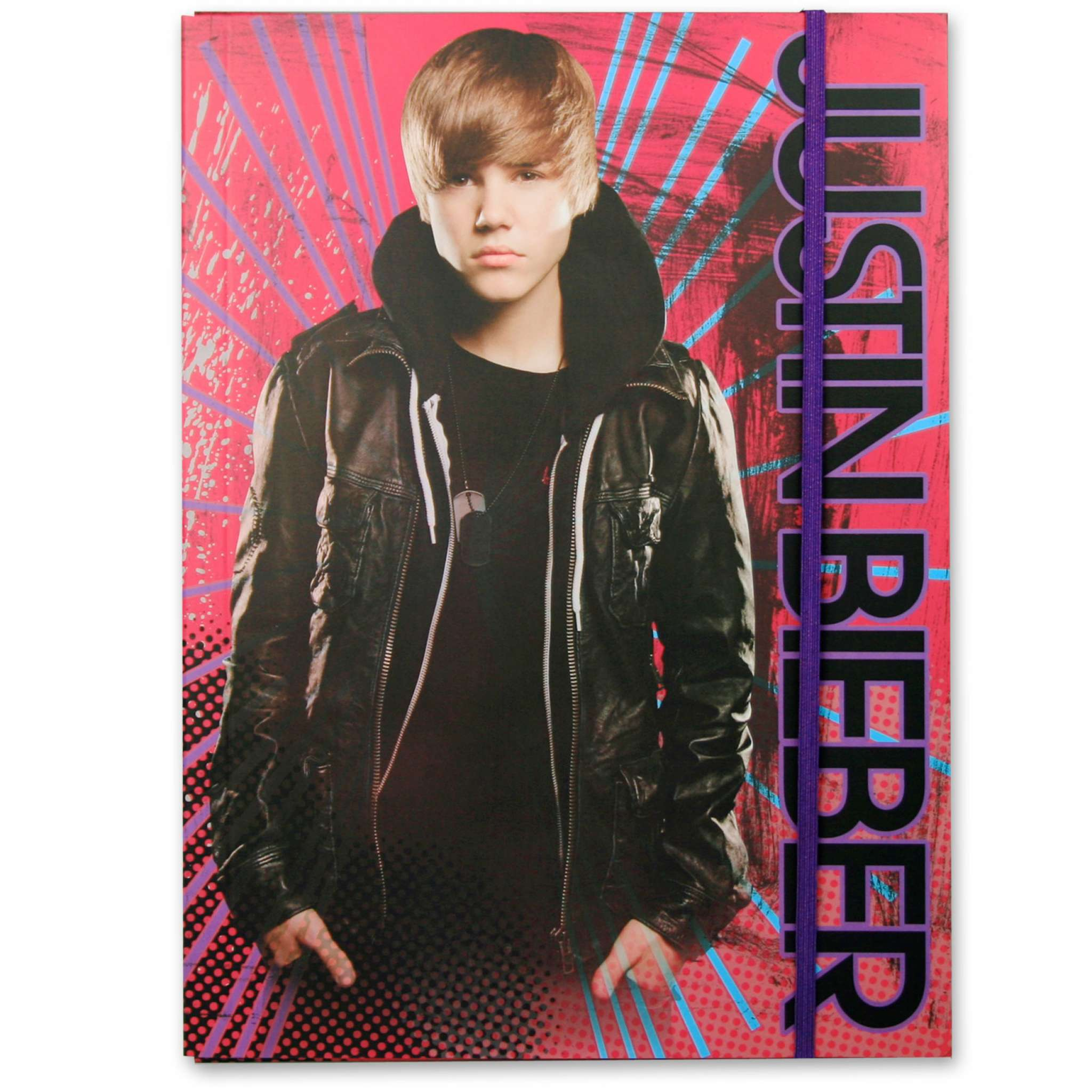 Justin Bieber Strikkmappe