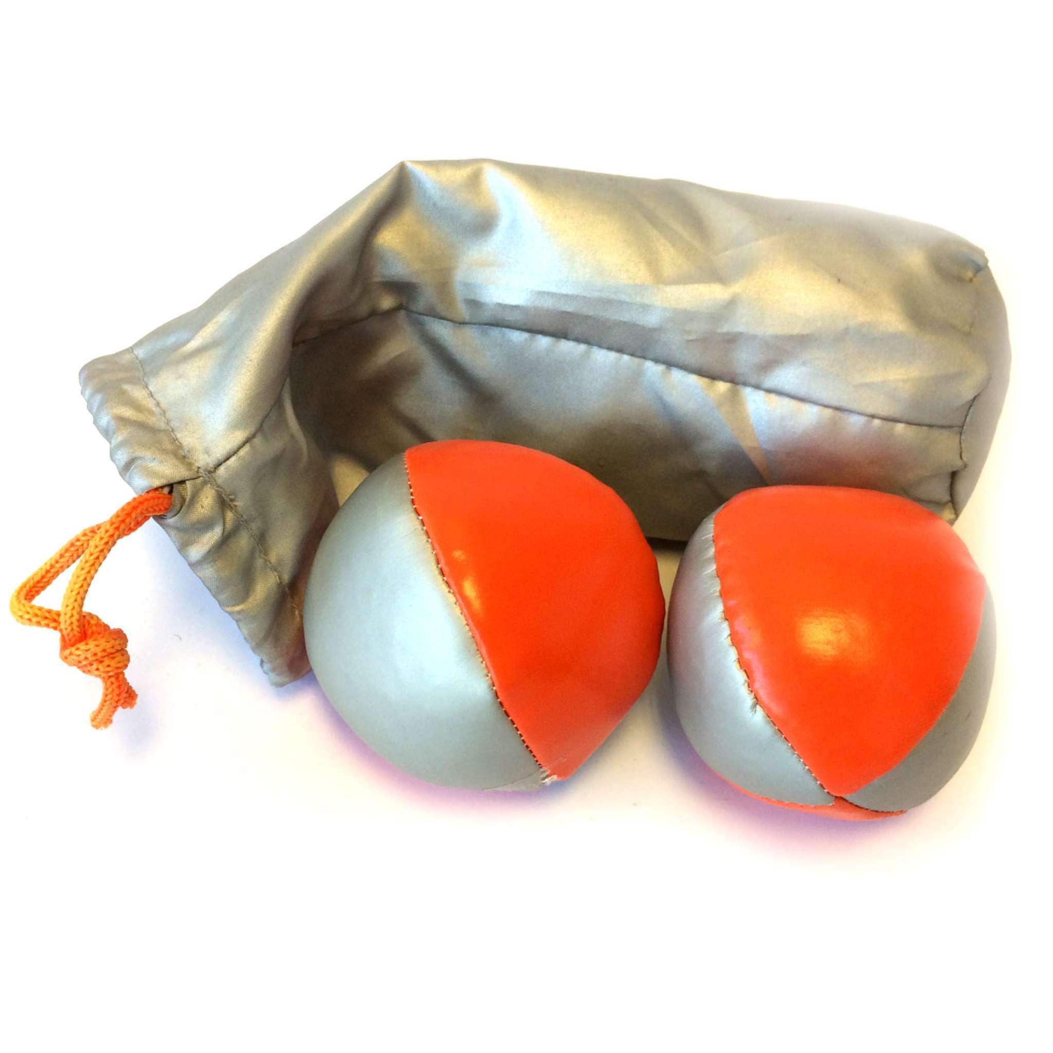 Sjongleringsballer i nylon pose