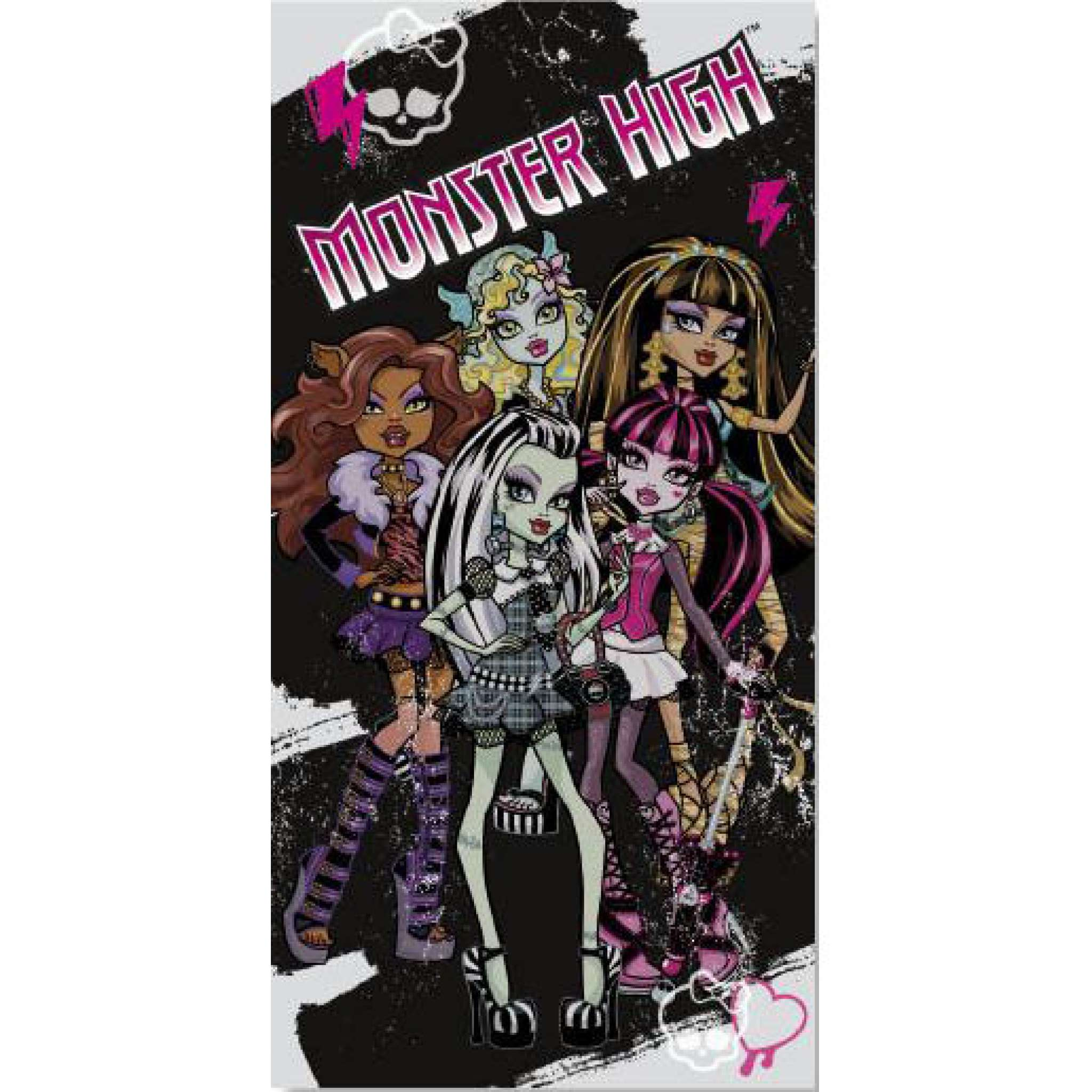 Badehåndkle, Monster High