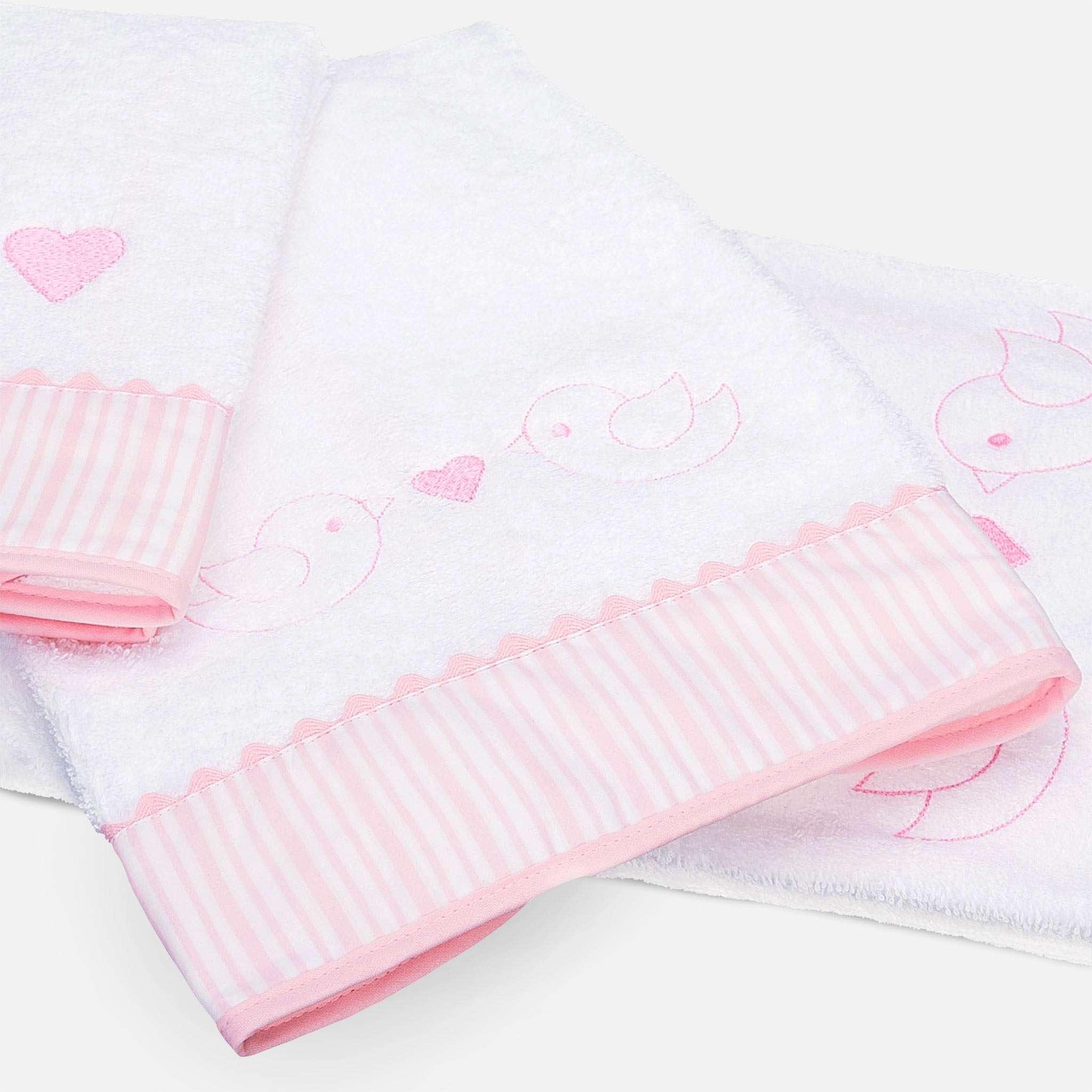 Ballon Pink Badehåndkle 70x140