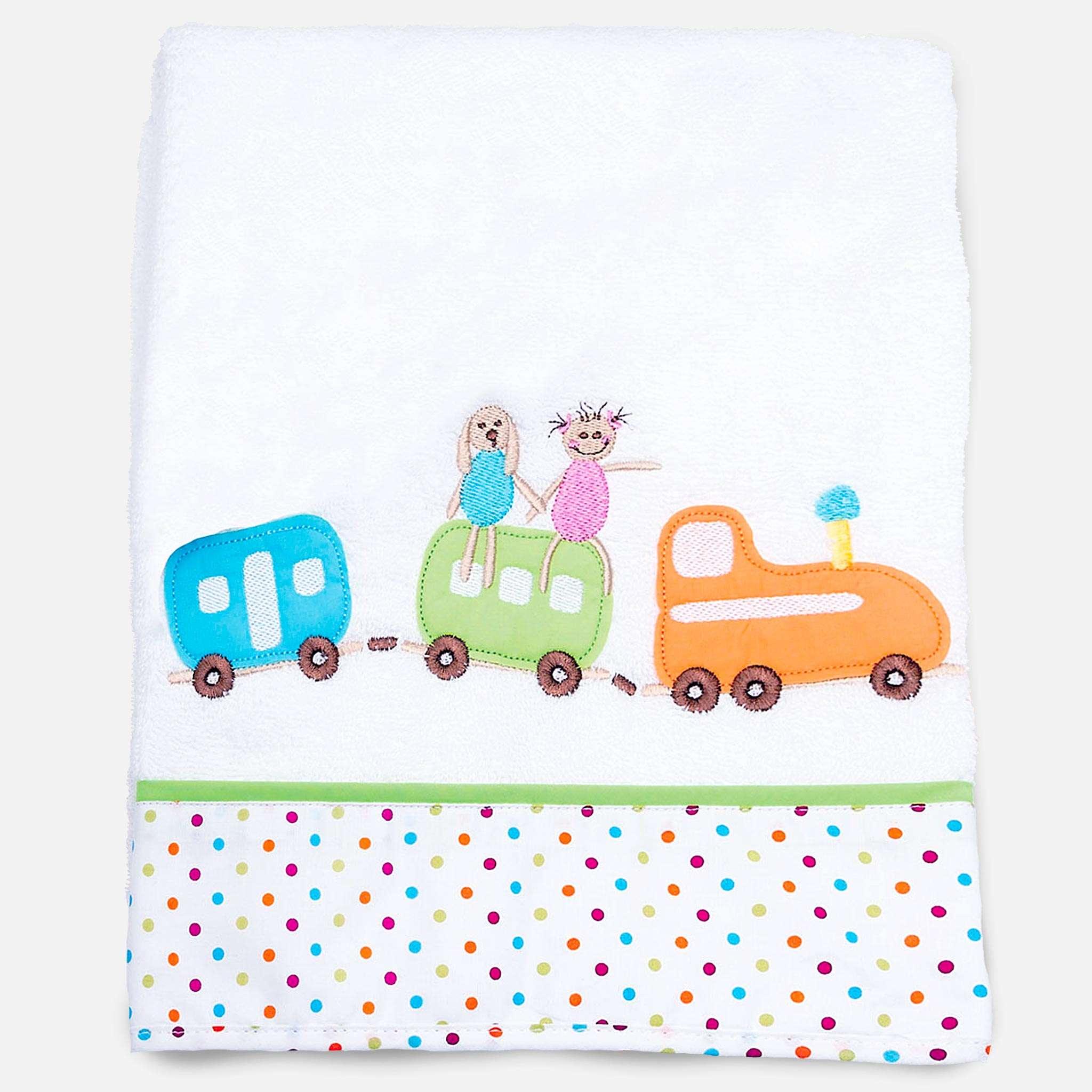 Bear Toys badehåndkle 70x140 cm