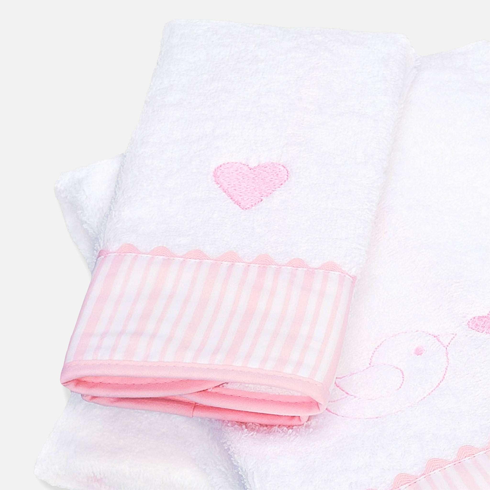 Ballon Pink Håndkle 50x100