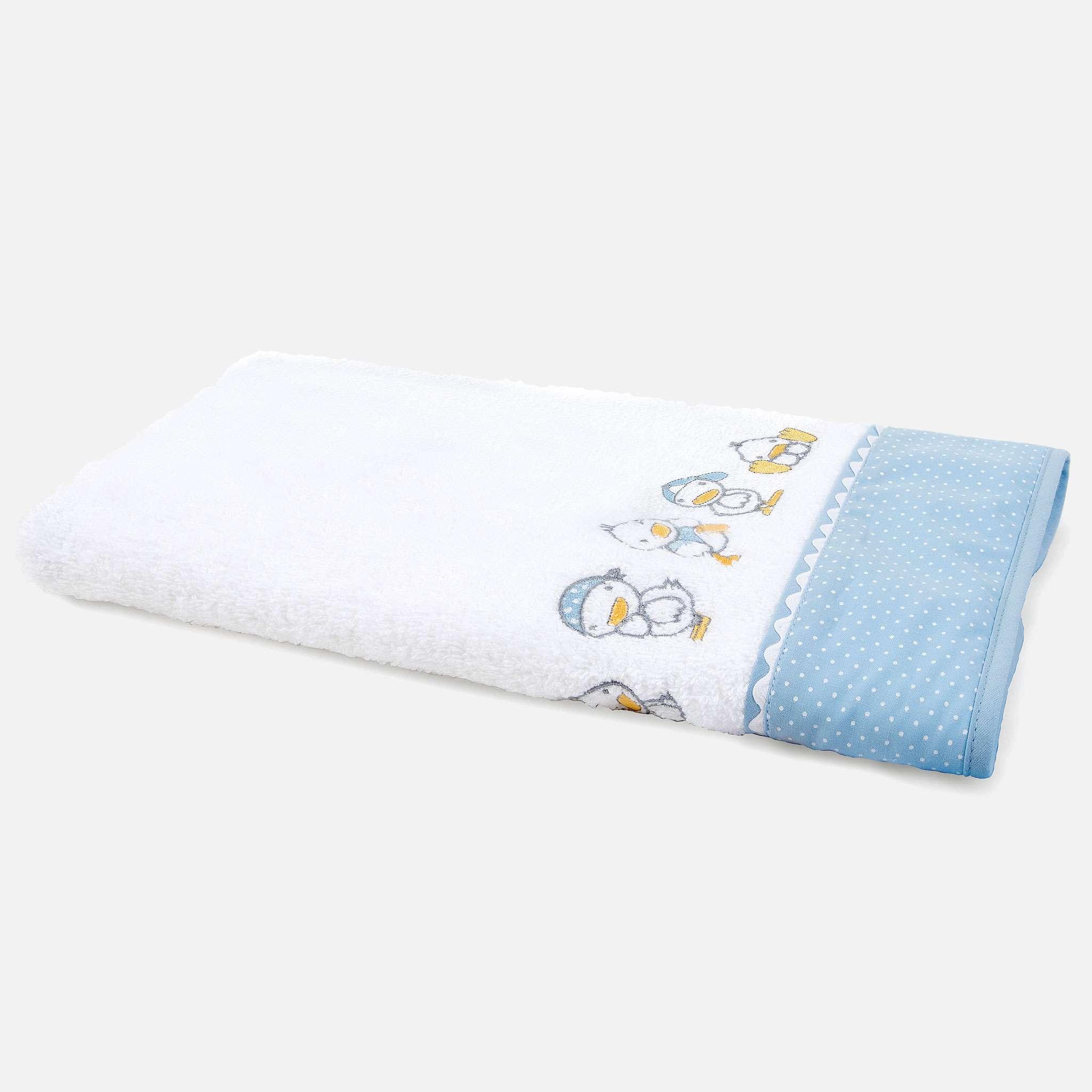Ducks Blue Håndkle 50x100 cm