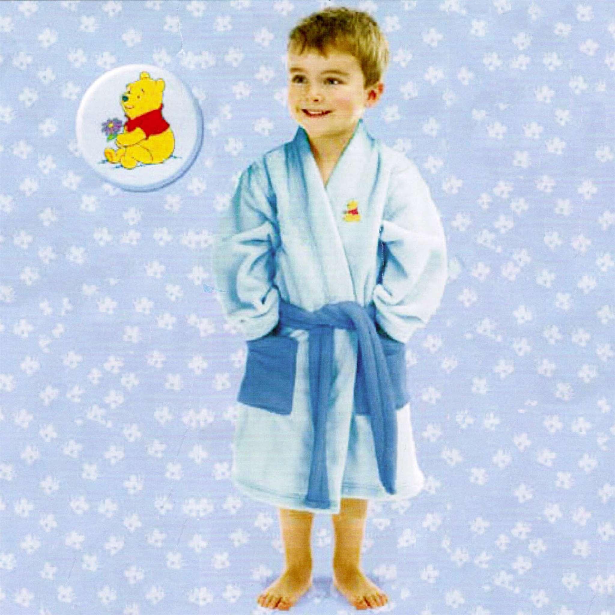 Badekåpe Barn Ole brumm 6-8 år