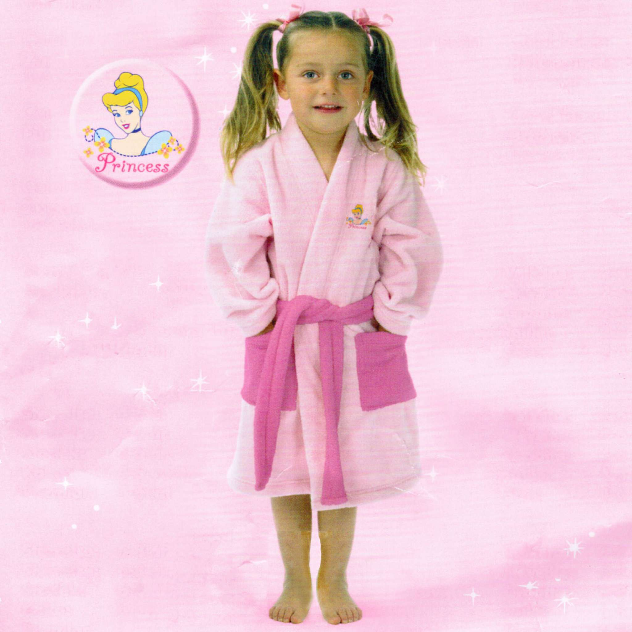 Badekåpe Prinsesse 8-10 år