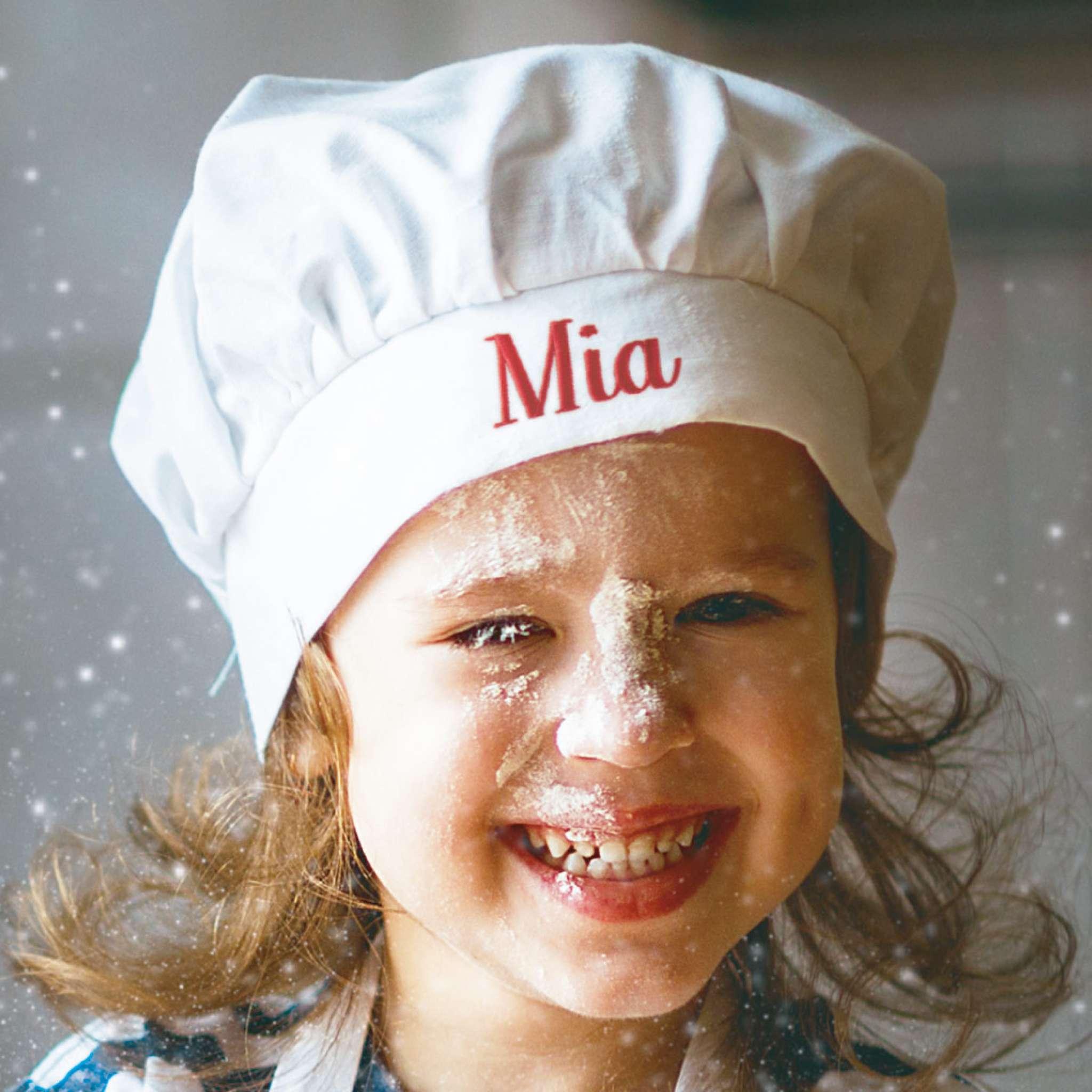 Kokkehatt barn