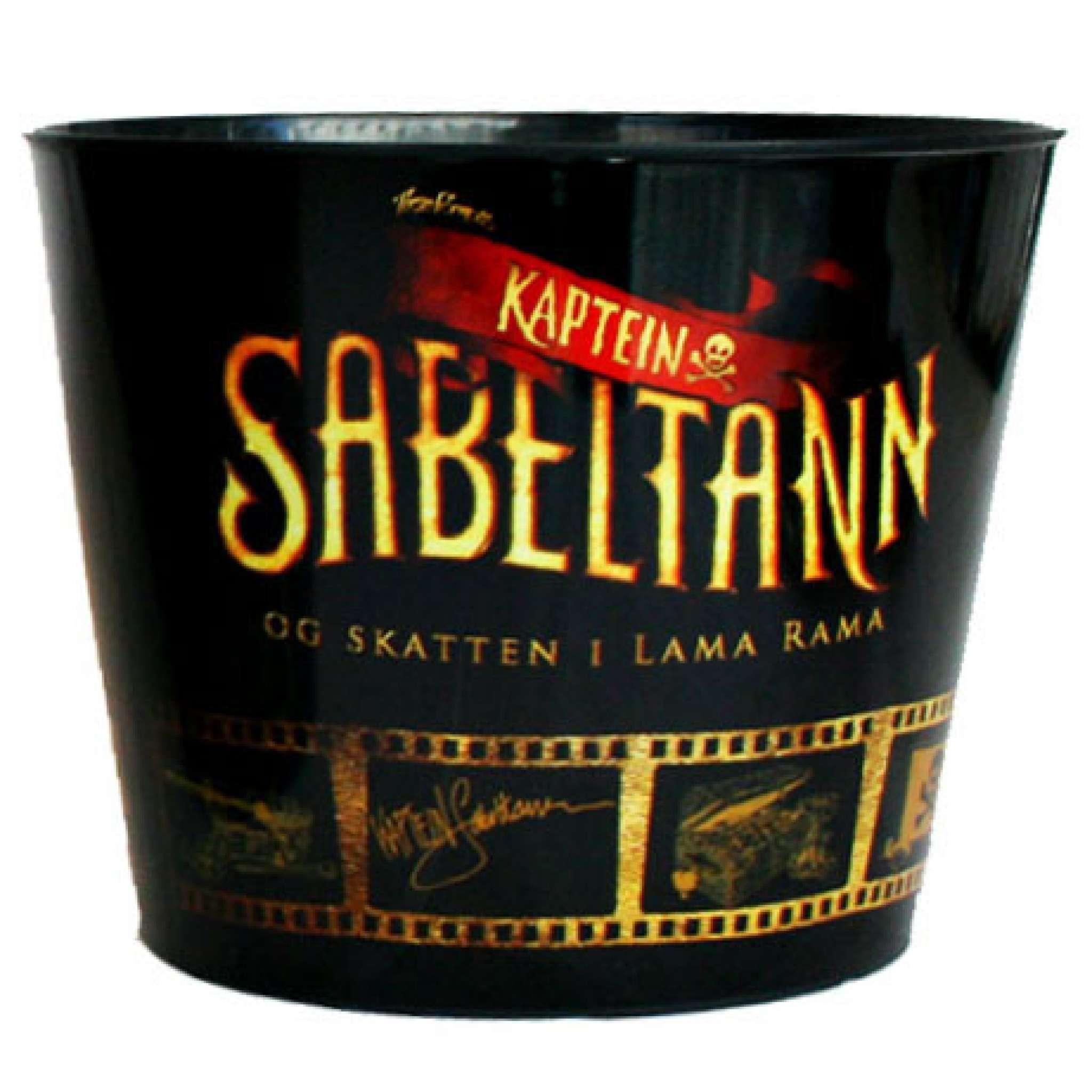 Kaptein Sabeltann Popcornbeger