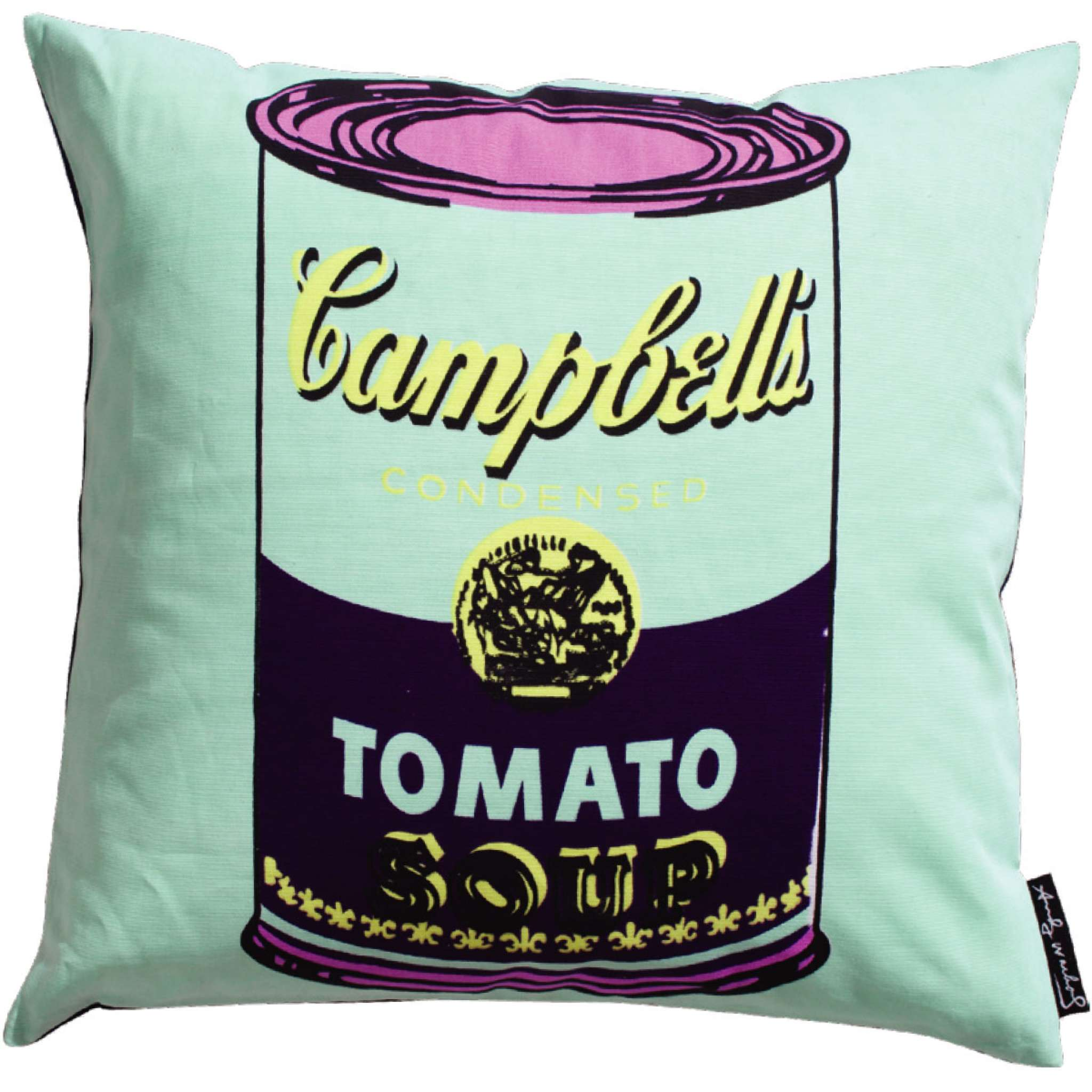 Andy Warhol, Campbell green Deco putevar 50x50 cm