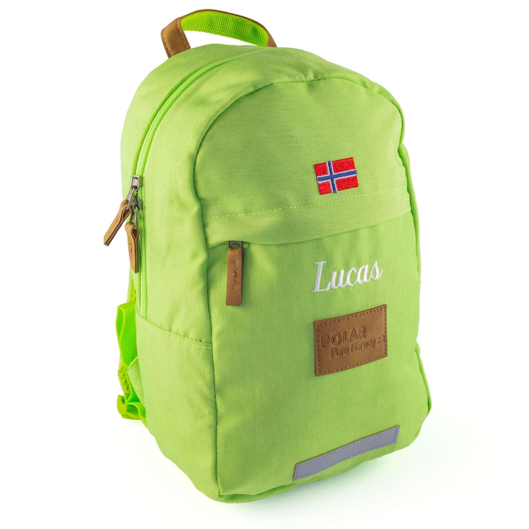 Polar Pure Norway ryggsekk 10 liter, Grønn