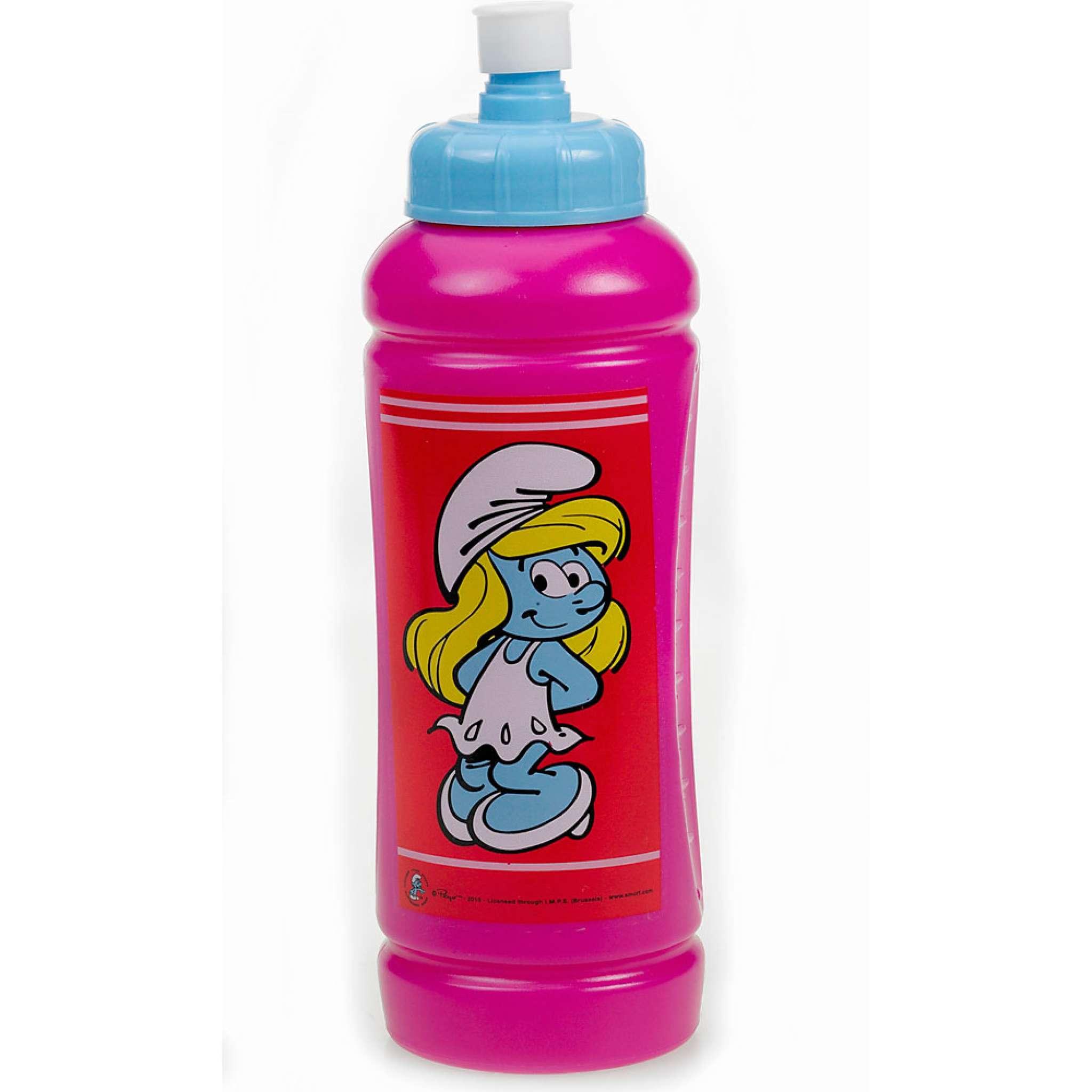 Sportsflaske Smurf Rosa