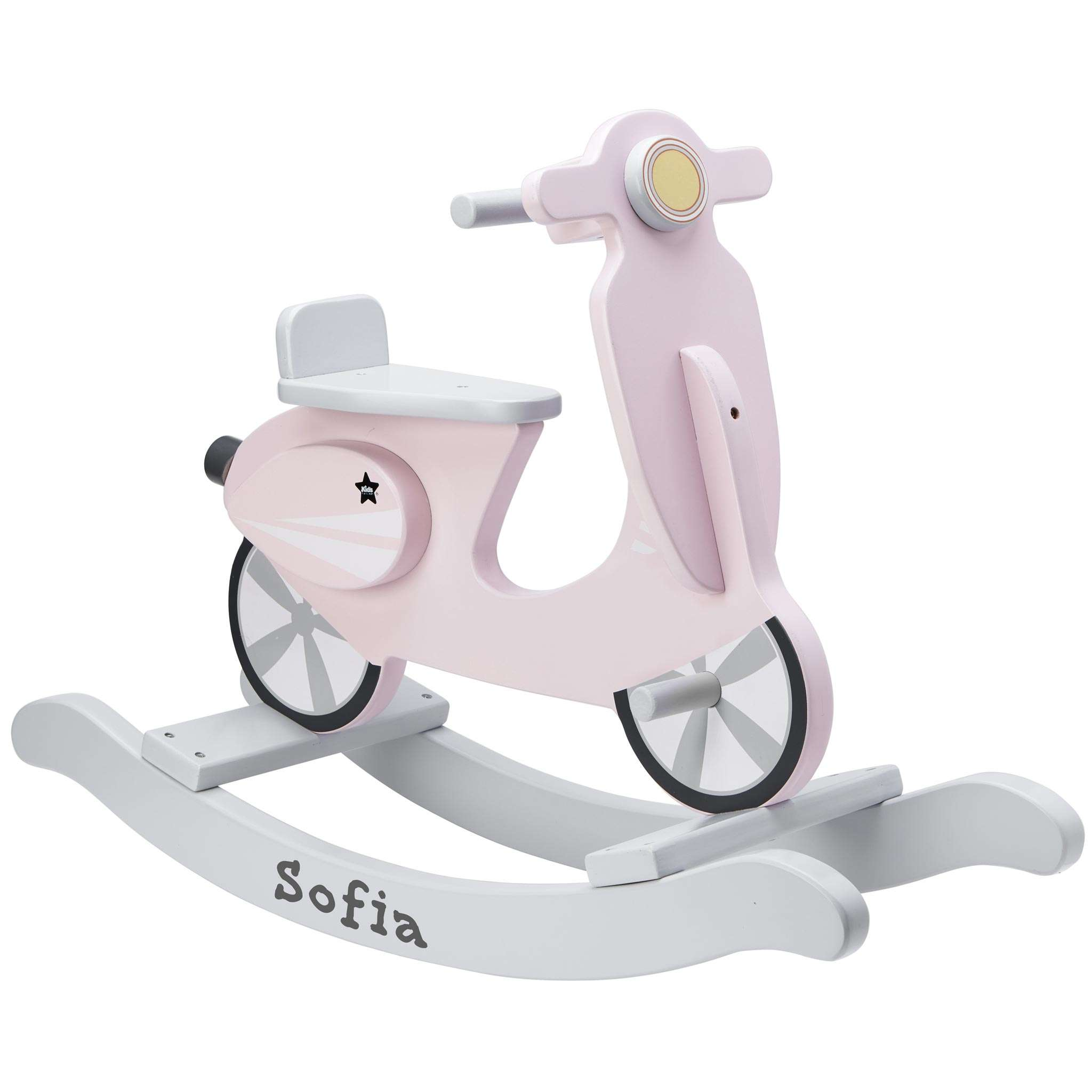 Gyngescooter rosa