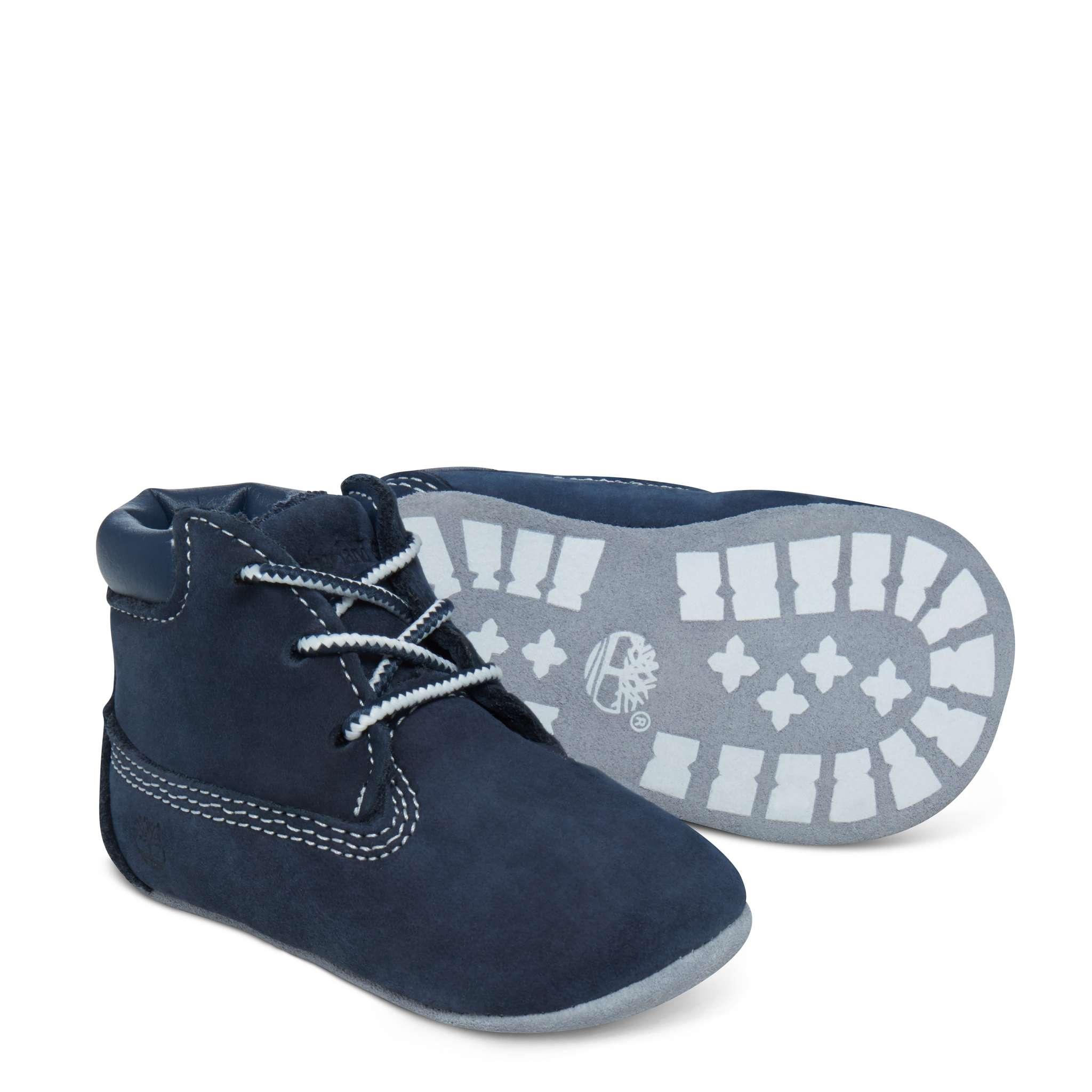 Timberland babysett med sko og lue, marine