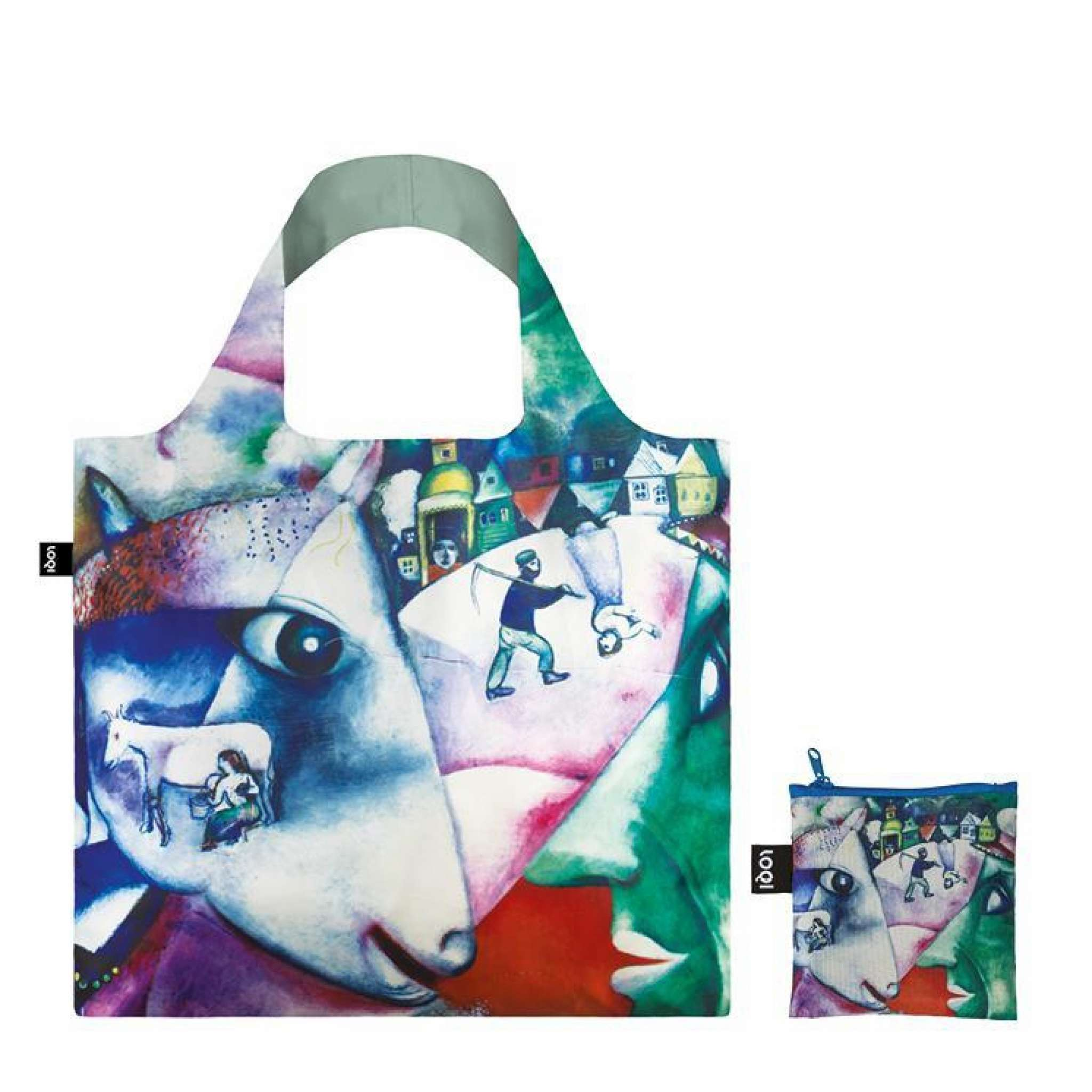 Shoppingbag, Marc Chagall I and the village