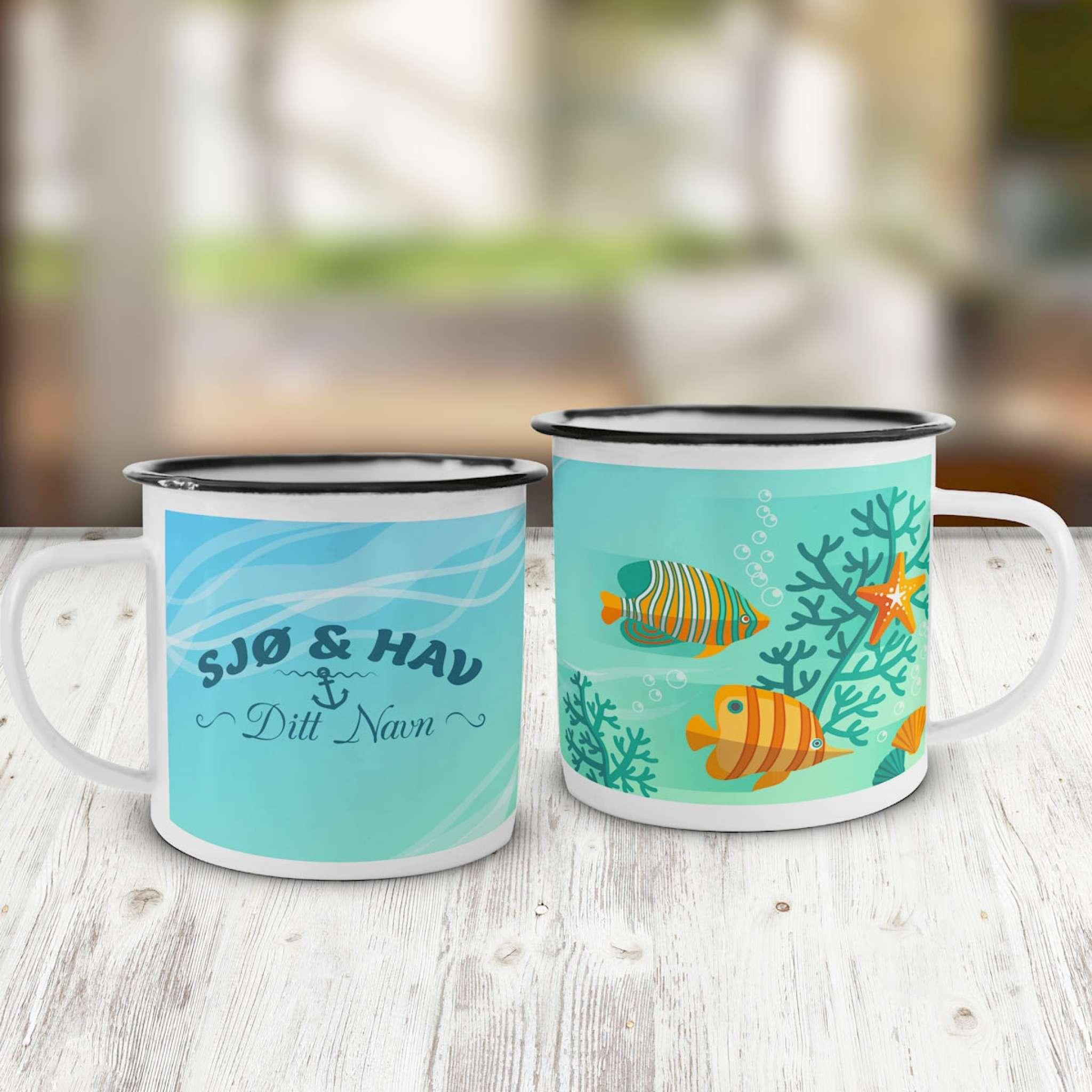 Emaljekopp, Sjø og hav