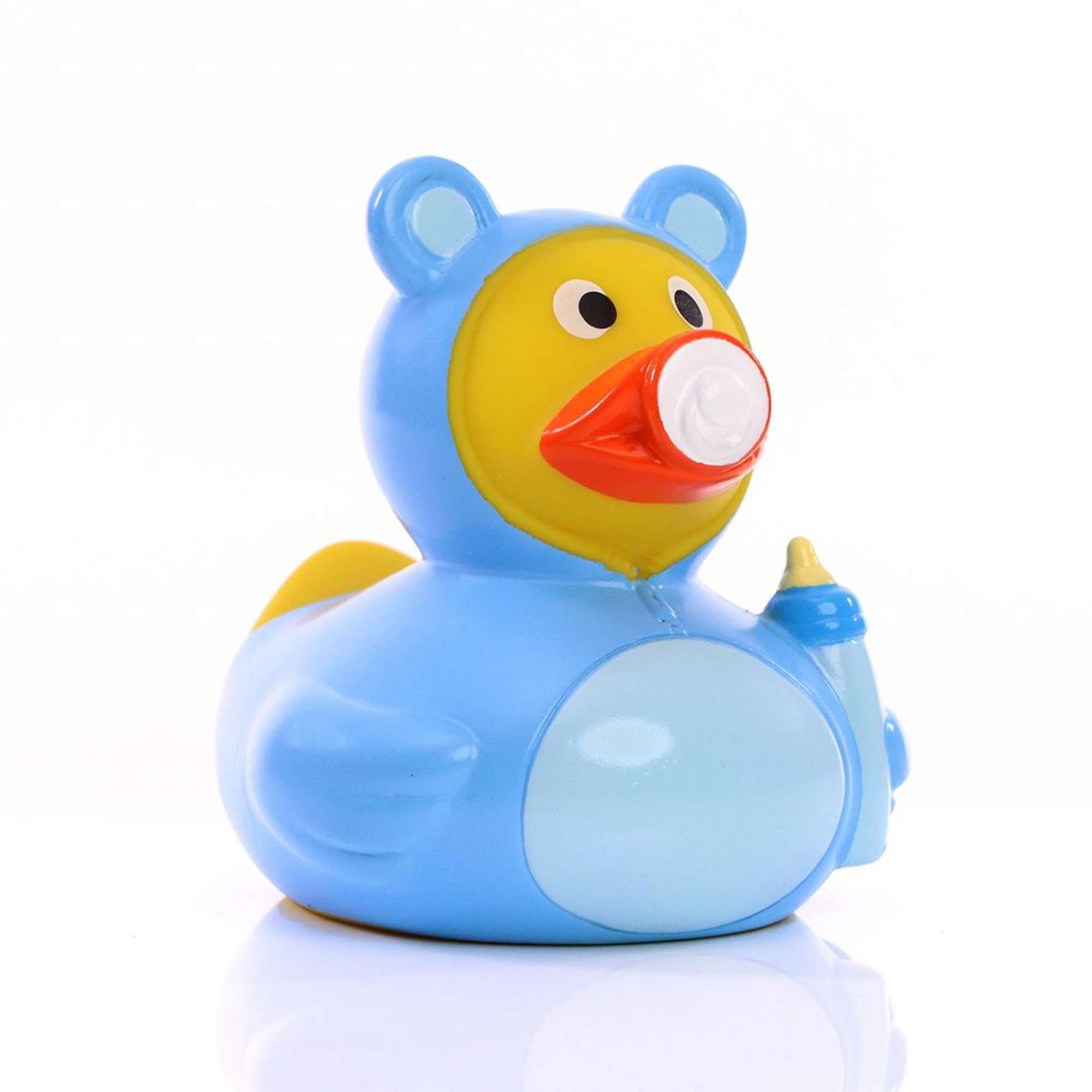 Badeand Blå Baby
