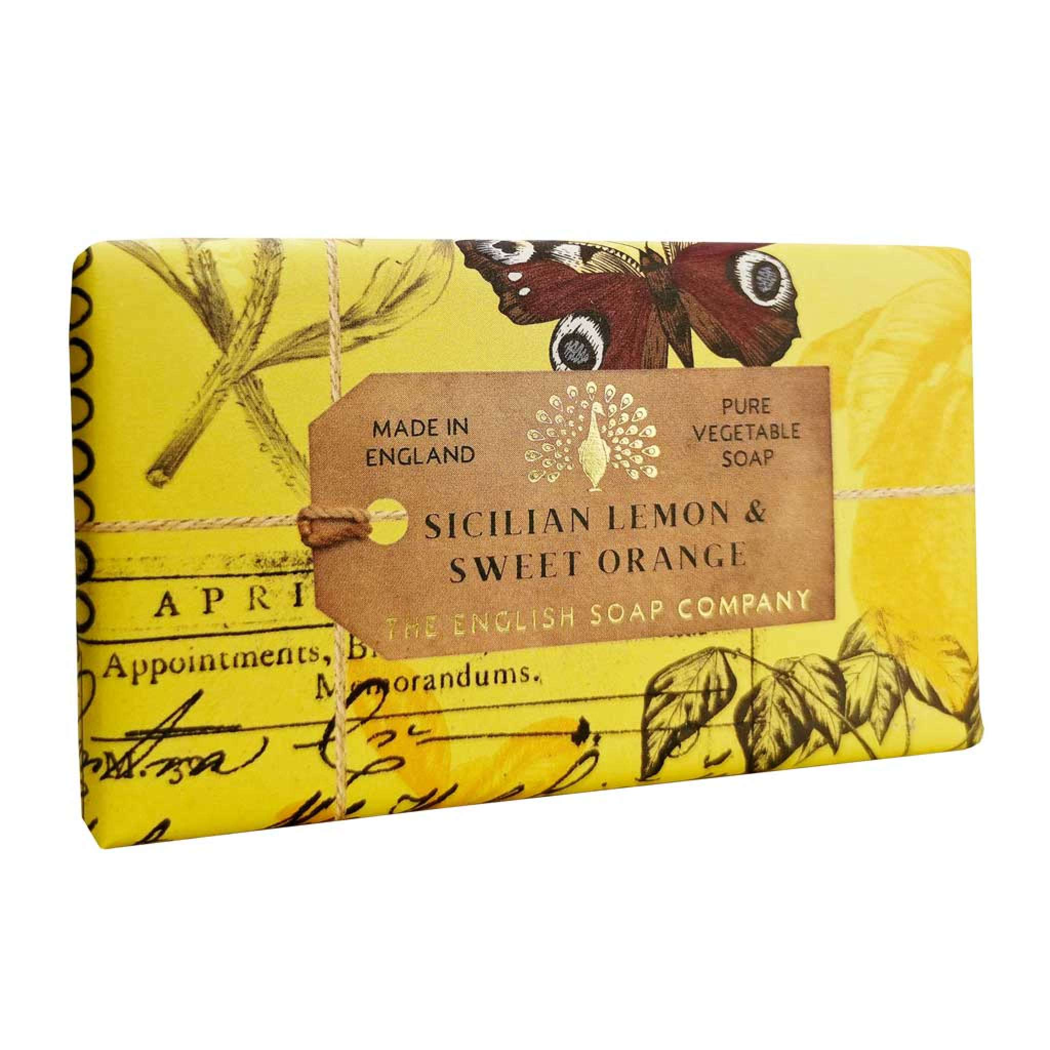Sicilian Lemon and Sweet Orange Anniversary såpe