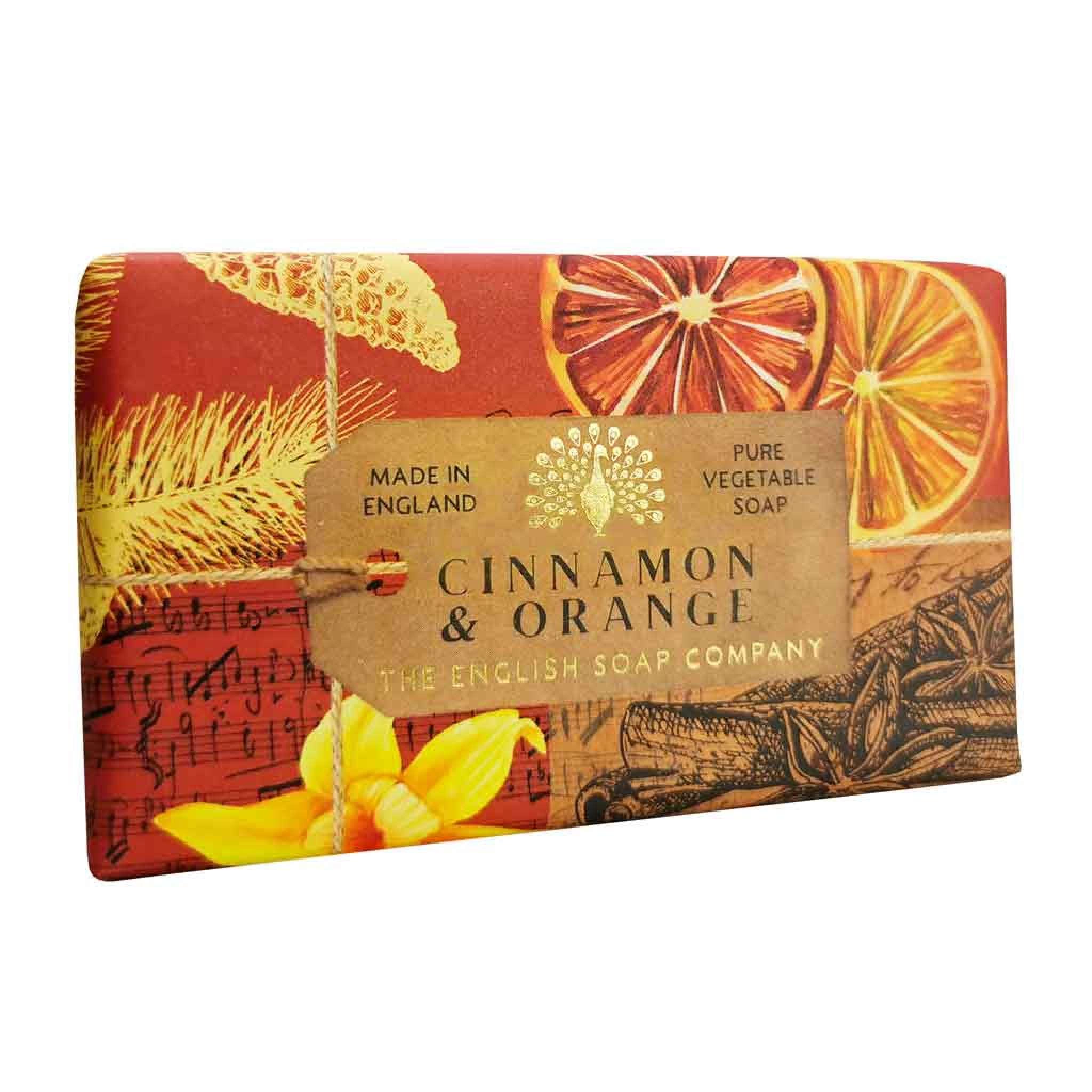 Cinnamon & Orange Anniversary såpe