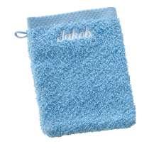Nyt en deilig vaskevott når du dusjer. Eller bruk den når du vasker babyen. Denne myke vaskevotten er perfekt å ha for hånden.   Dobbel 16x21 cm, 100% bomull