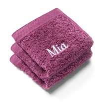 Nyt en deilig vaskeklut når du dusjer. Disse myke vaskeklutene er perfekte.   30x30 cm, 100% bomull  <i>Bestill en enda finere gave med samme navn og farge. Dette er et sett med 2 identiske, så du alltid har et for hånden.</i>