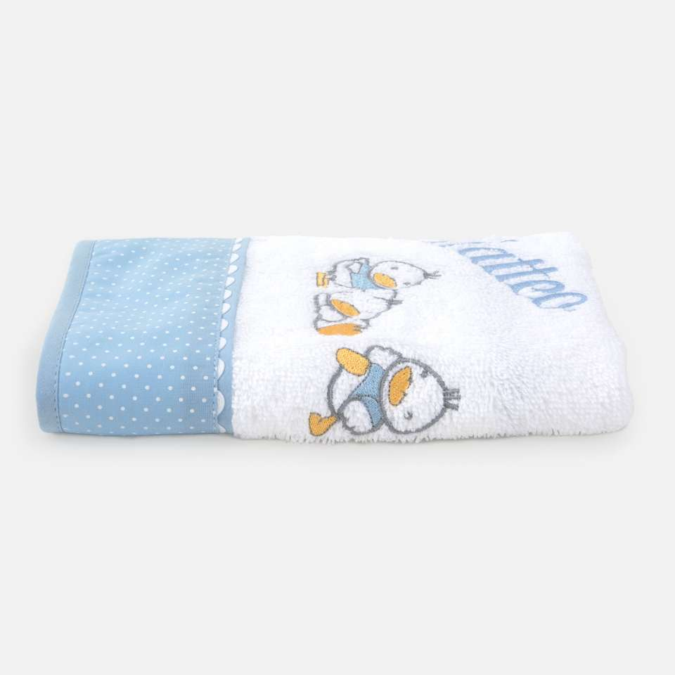 Ducks Blue Håndkle 30x50 cm