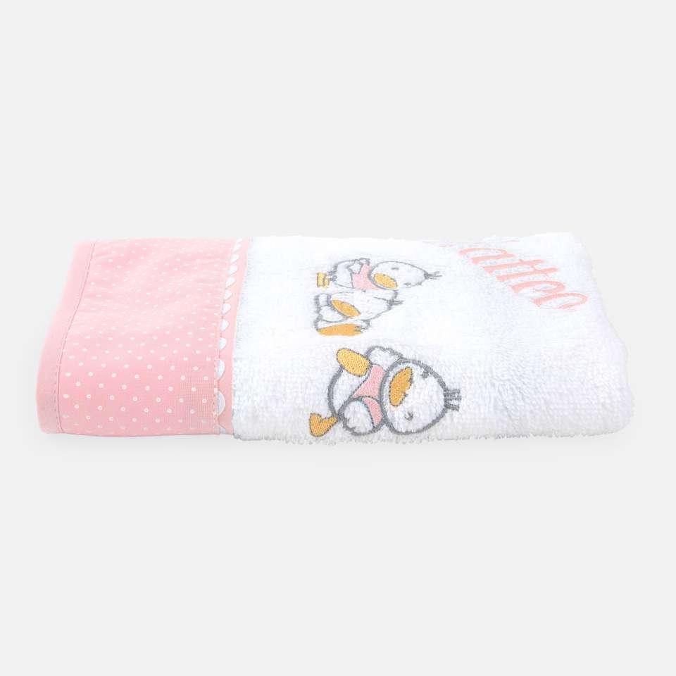 Ducks Pink Håndkle 30x50 cm