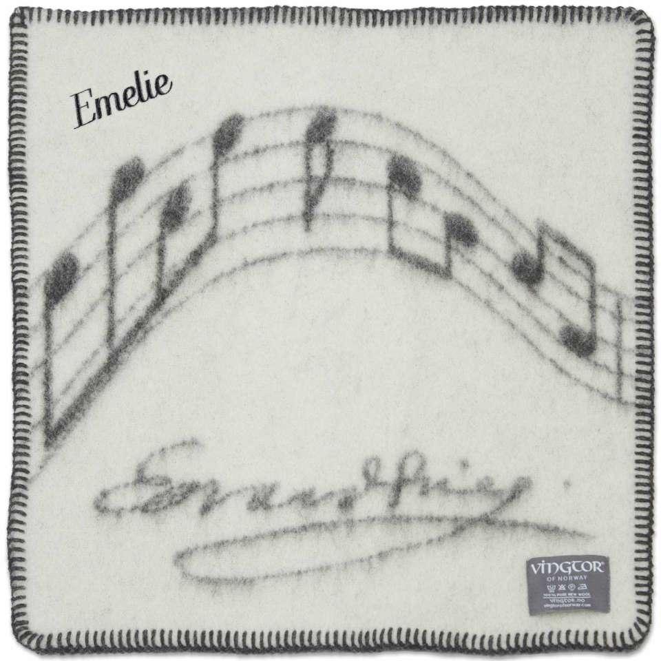 Sitteunderlag Vingtor, Grieg