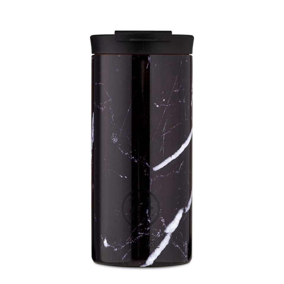 Tumbler 600ml Black Marble
