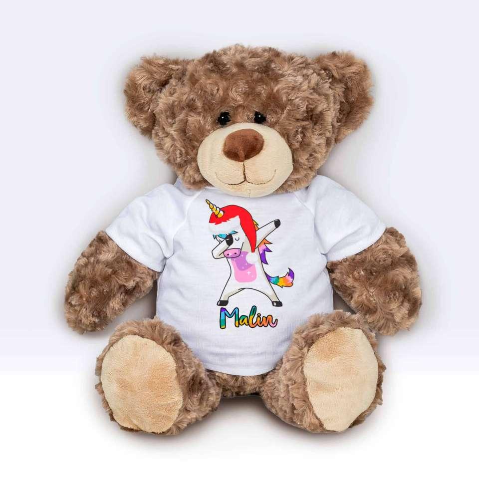 Teddy T-shirt Enhjørning Dab