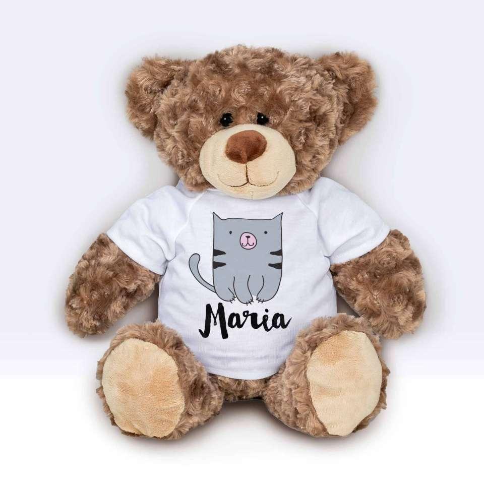 Teddy T-shirt Katt