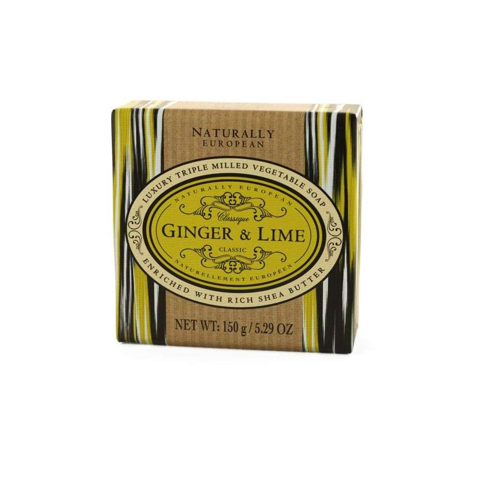Ginger & Lime Naturally European såpe