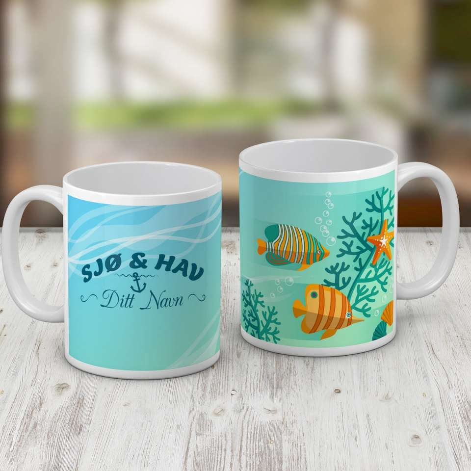 Kaffekrus, Sjø og hav