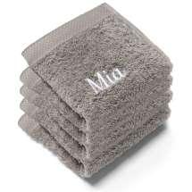 Nyt en deilig vaskeklut når du dusjer. Disse myke vaskeklutene er perfekte.   30x30 cm, 100% bomull  <i>Bestill en enda finere gave med samme navn og farge. Dette er et sett med 4 identiske, så du alltid har et for hånden.</i>