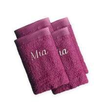 16x21 cm, 100% bomull.<br> Nyt en deilig vaskevott når du dusjer. Eller bruk den når du vasker babyen. Disse myke vaskevottene er perfekte.   <i>Bestill en enda finere gave med samme navn og farge. Dette er et sett med 4 identiske, så du alltid har et for hånden.</i>