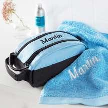 Premium Milano toalettveske sammen med et matchende Pure exclusive Håndkle.