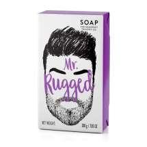 """""""A masculine fragranced Soap bar for your dirty man.""""<br/><br/>Herlig såpe laget spesielt for å ta vare på skjegget og huden under, uten å tørke ut. Inneholder blant annet sheasmør som er kjent for sine fuktighetsgivende egenskaper. Etterlater skjegg og hud mykt og velduftende av sedertre og sitrongress. Tøff innpakning hvor man kan """"kjenne"""" på skjegget.<br/><br/>"""